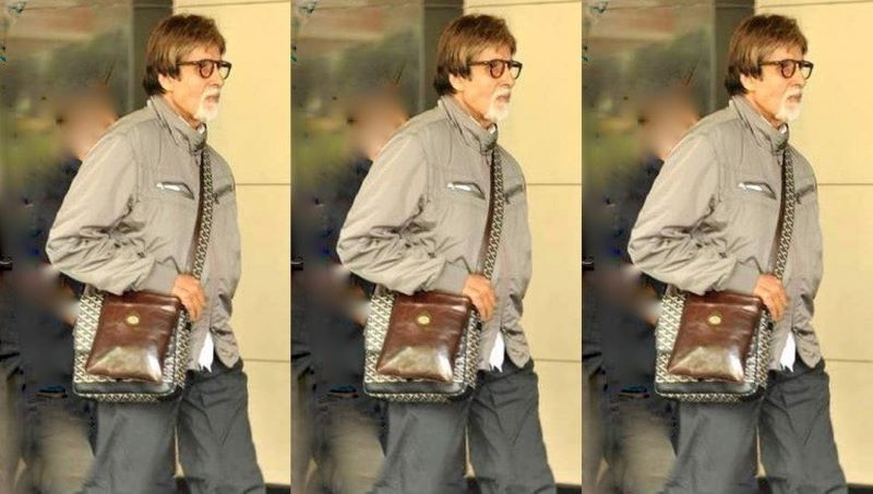 Happy Birthday Big B: Amitabh Bachchan walks into '80th' in style, shares picture