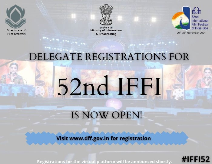 Offline registration for delegates for 52nd IFFI begins