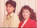 Throwback 90s: Juhi Chawla adds special image on Instagram where she could be seen posing with Shah Rukh Khan