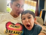 Kareena Kapoor Khan shares funny selfie with son Taimur on Instagram. Check out
