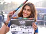 Kriti Sanon starts shooting for Bachchan Pandey, shares pictures from set on Instagram