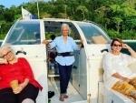 Waheeda Rehman, Asha Parekh, Helen spend gala time in Andamans