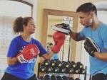 Amrita Arora sets herself 30 days fitness challenge, posts 'self motivational' message on Instagram