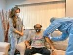 Rajinikanth gets Covid-19 vaccine