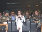 Bollywood actors Vicky Kaushal, Sonal Chauhan praise Kashmir at Uri event