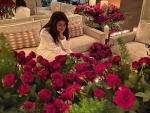 Priyanka Chopra enjoys 'rosy' Valentine's Day