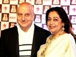 Kirron Kher diagnosed with blood cancer, husband Anupam Kher confirms