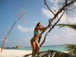 Disha Patani scorches internet in bikini on beach