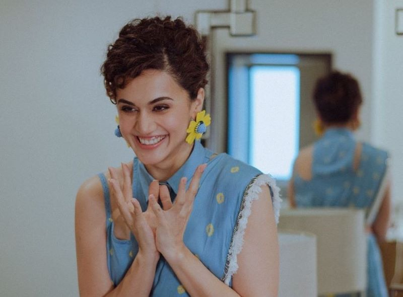 Taapsee Pannu reacts to IT raids with sarcasm