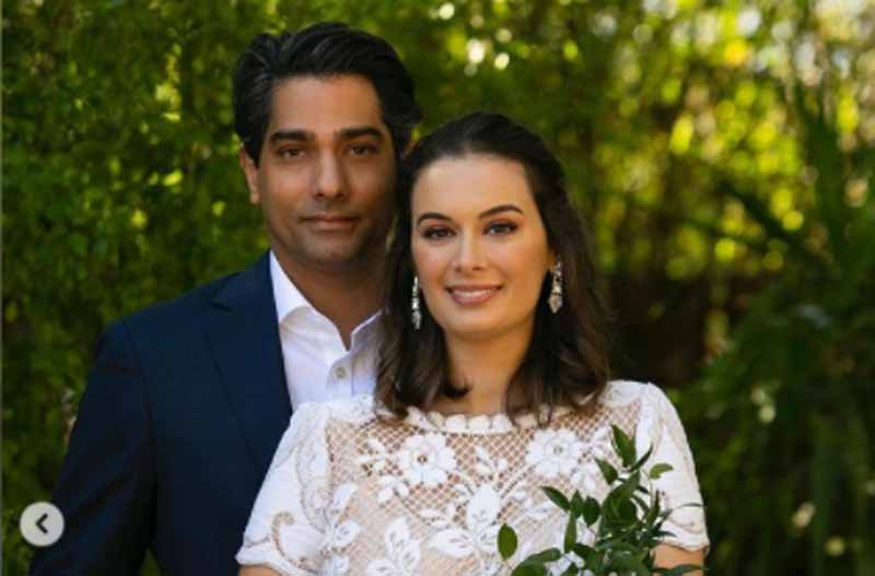 Evelyn Sharma ties knot with longtime beau Tushaan Bhindi, posts heart-melting images on Instagram