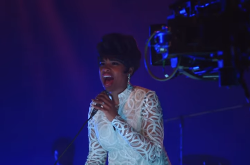 Jennifer Hudson dazzles as Aretha Franklin in first look of Respect