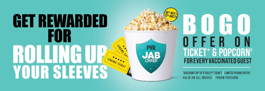PVR offers free ticket to COVID-19 vaccinated guest
