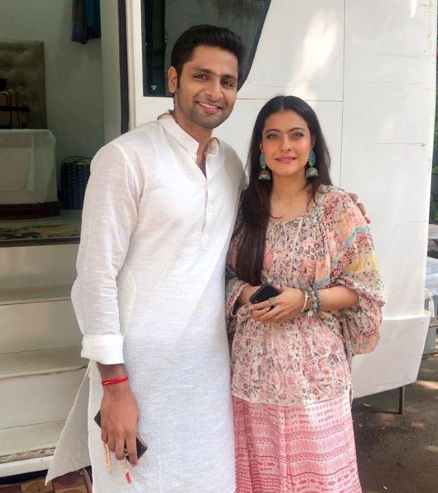 Vaibhav Tatwawaadi and Kajol