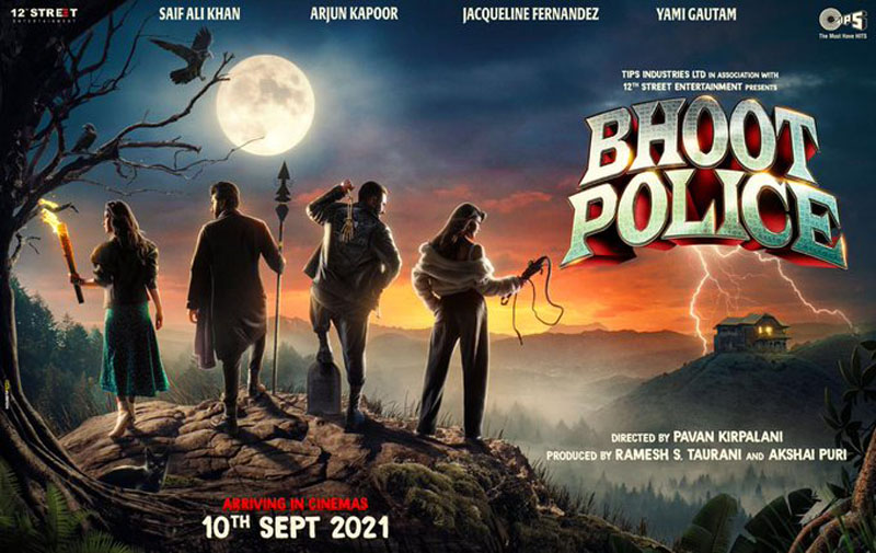 Saif Ali Khan's Bhoot Police to release on Sept 10