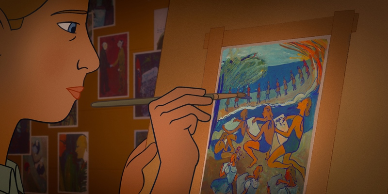 TIFF 2021 animated drama 'Charlotte' depicts story of German Jewish artist's challenging creation during World War II