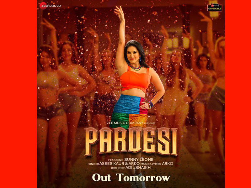 Sunny Leone is all set to groove her fans with Pardesi tomorrow