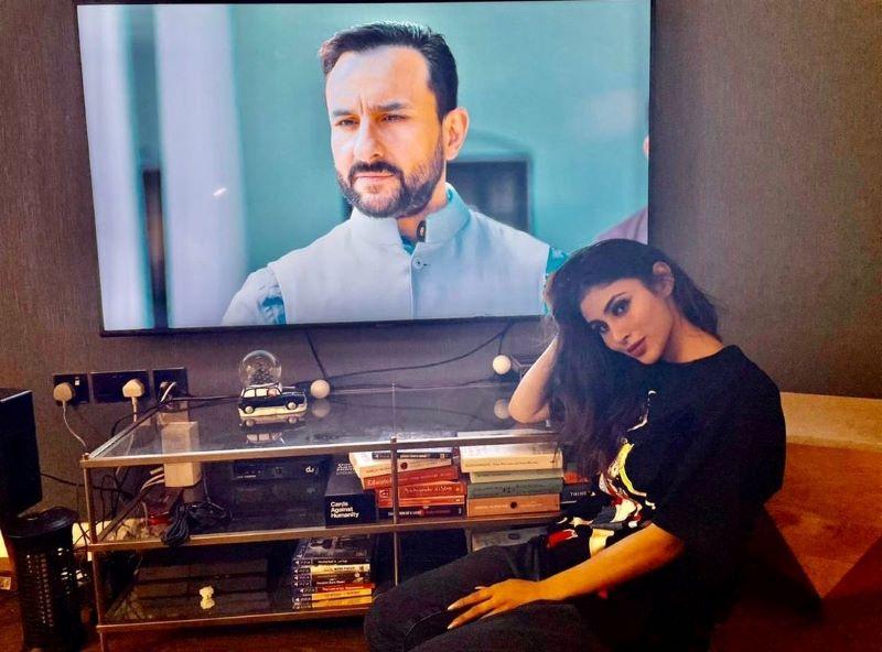 Mouni Roy watches Saif Ali Khan starrer Tandav