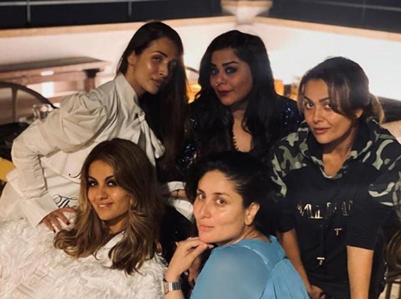 Kareena Kapoor Khan 'reunites' with her girl gang, shares image on Instagram