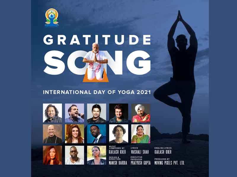 Grammy award winner and internationally renowned musicians unite with Indian legends to create the Yoga Anthem