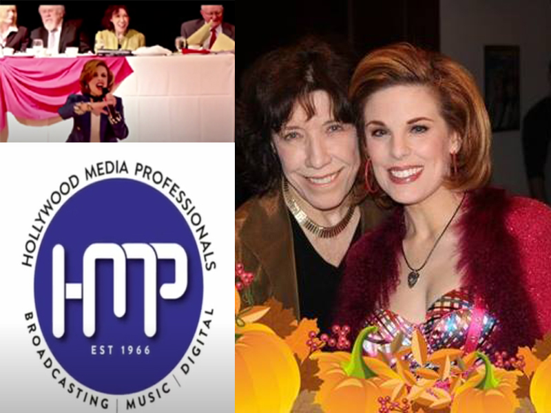 Kat Kramer kicks off the HMP Celebrity Showcase web series with a live performance to honor Lily Tomlin