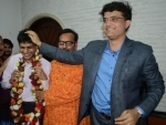 Sourav Ganguly elected as CAB president