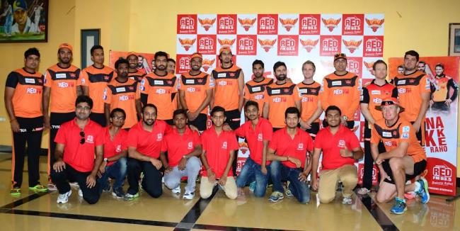 93.5 RED FM listeners test their mettle with SunRisers Hyderabad