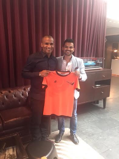 Delhi Dynamos unveiled Florent Malouda in EPL