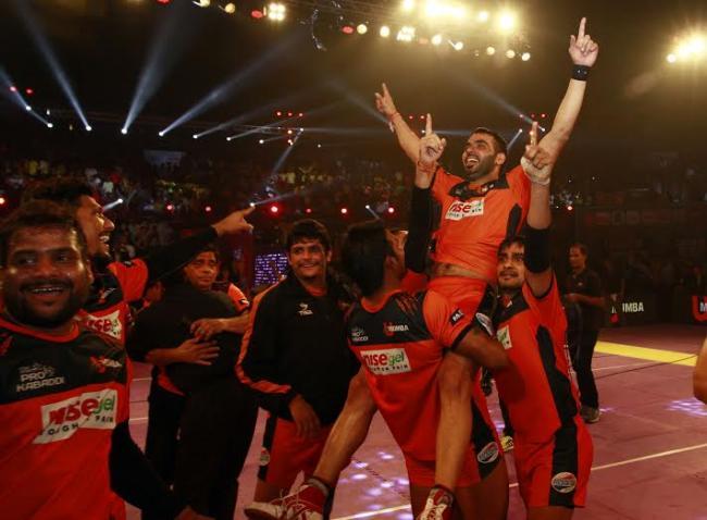 U Mumba wins Pro Kabaddi Season 2