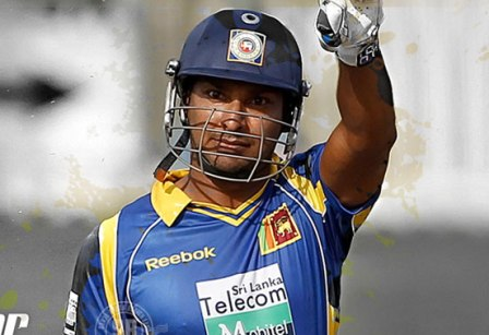 Sanga scores 18 in his last official Test innings