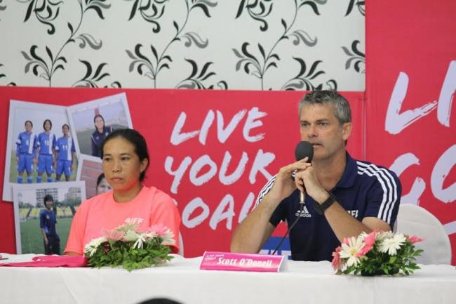 We aim to popularise Football among girls, states O'Donell