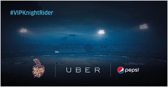 KKR, Uber, Pepsi tie up for KKR fan experience