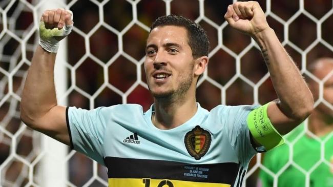 Hazard-inspired Belgium blow away Hungary