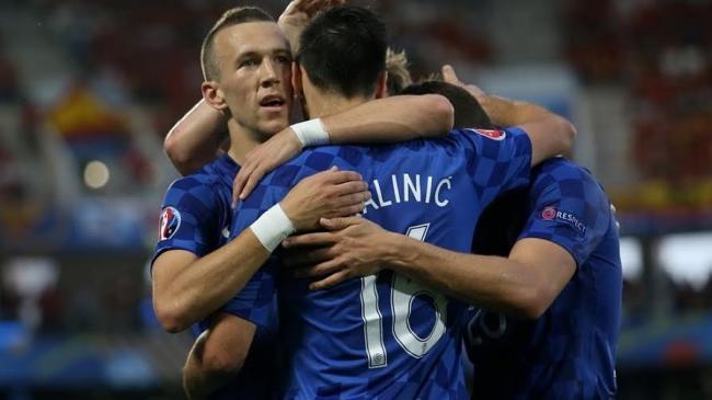 Perišić's late goal means Croatia pip Spain