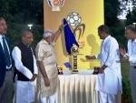 Prime Minister unveils BRICS U-17 trophy