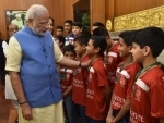 PM Modi says sports can be a great means of national integration