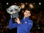 Novak Djokovic beats Britain's James Ward in his Wimbledon opener