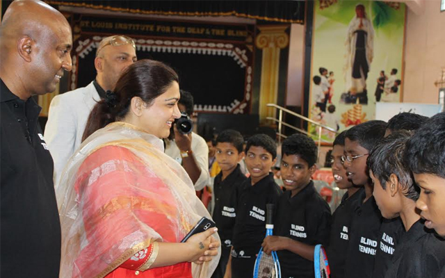 IVI Brings 'Blind Tennis' to Chennai