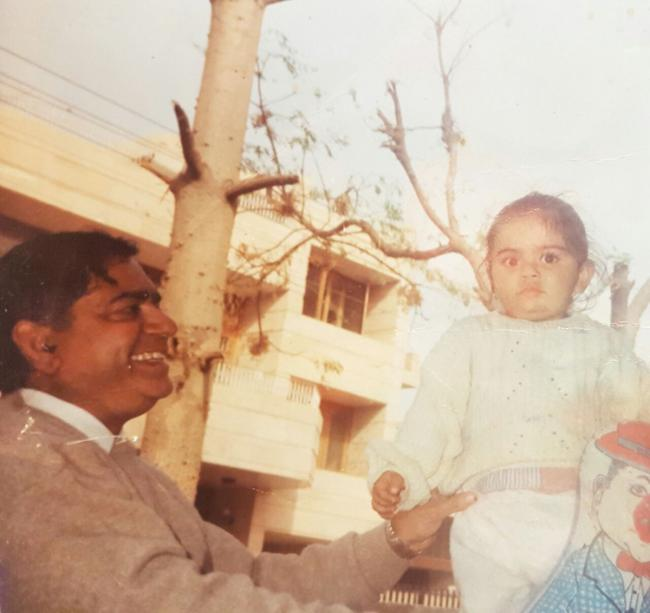 Virat Kohli shares childhood picture with his father