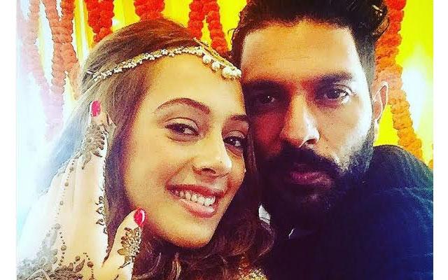 Yuvraj Singh marries Hazel Keech at gurudwara in Chandigarh