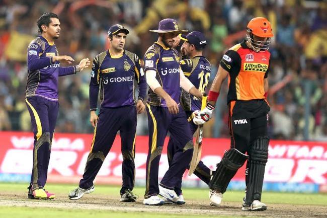 KKR beat SRH to reach IPL playoffs