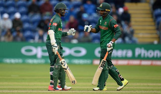 ICC Champions Trophy : Bangladesh 212 for five at the end of 41st over
