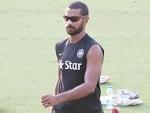 Shikhar Dhawan released for first three ODIs against Australia