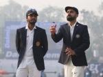 India 192/4 at tea, take 335-run lead