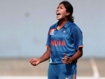 BCCI congratulates fast bowler Jhulan Goswami