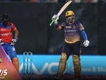 Uthappa and Raine guide KKR to score 187 in their innings against Gujarat lions