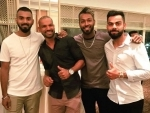 Virat Kohli and his men go out for dinner to enjoy Monday night