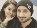 Harbhajan Singh shares picture with wife Geeta Basra