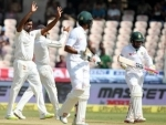 One-off Test: Mahmudullah holds fort, India five away from another win