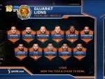 Gujarat Lions win toss, elect to field