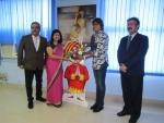 Air India felicitates ace cricketer employee Jhulan Goswami